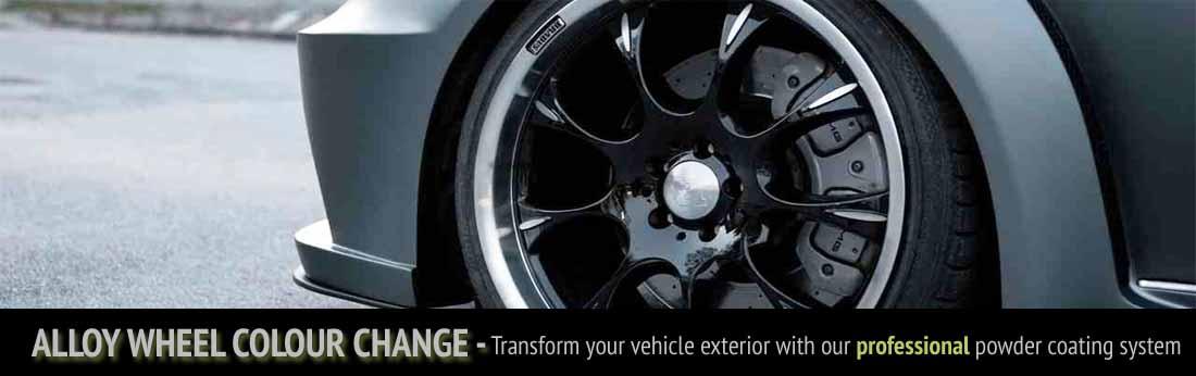 allo wheel colour change