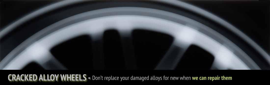 cracked alloy repairs